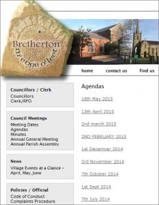 Bretherton Parish Council