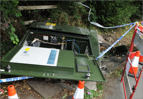 Car crash broadband
